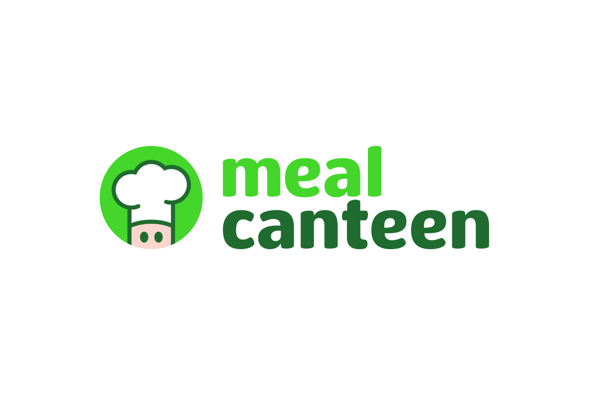 meal canteen conception logo