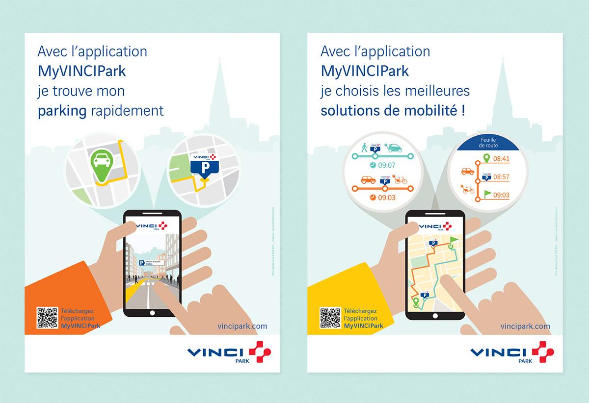 VINCI Park affiches duo 3