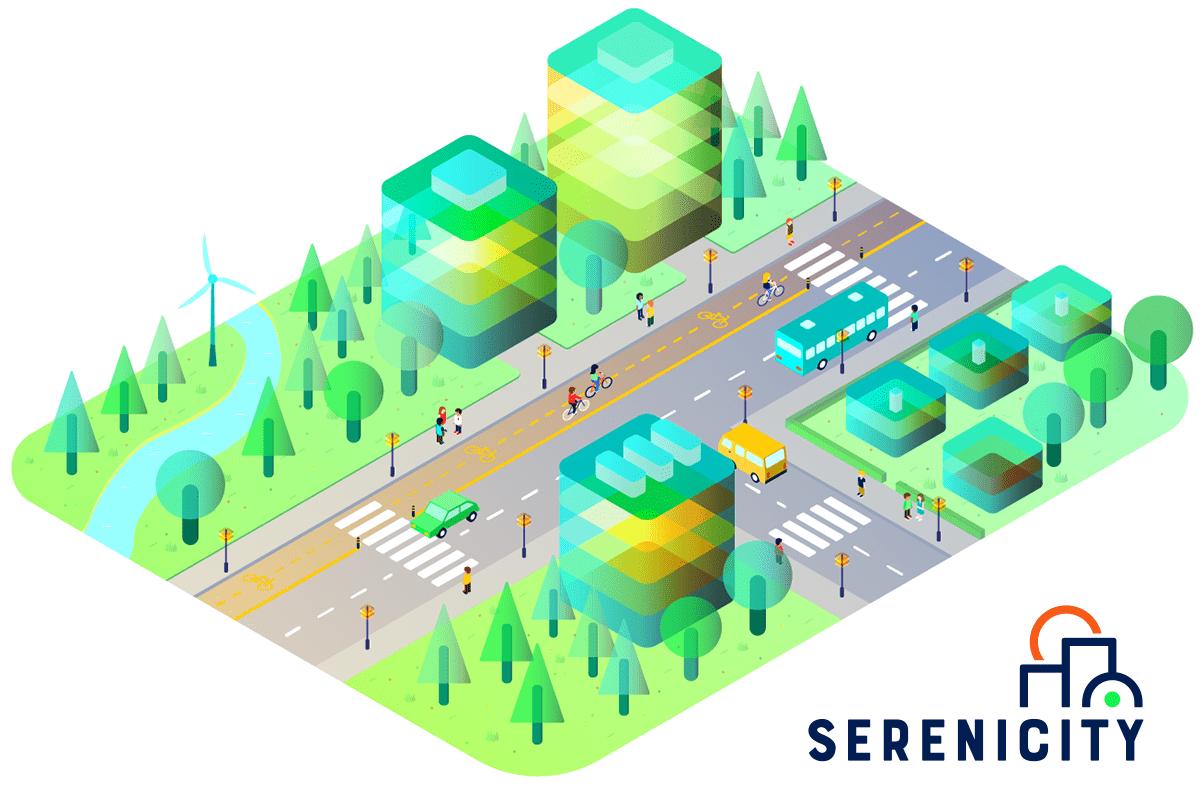 design logo serenicity