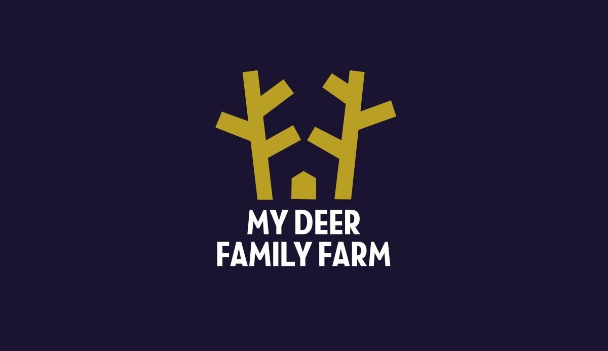 logo My Deer Family Farm